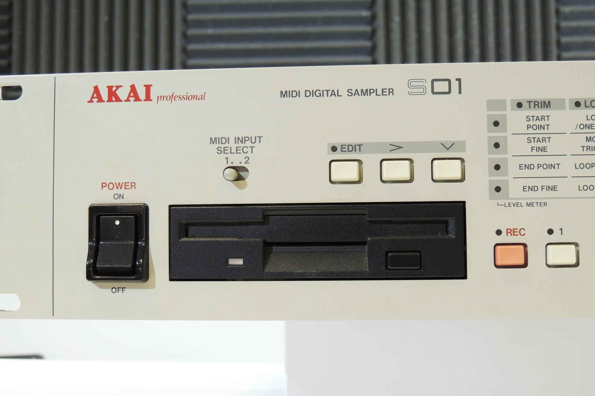 Akai S01 sampler for sale at Plasma Music
