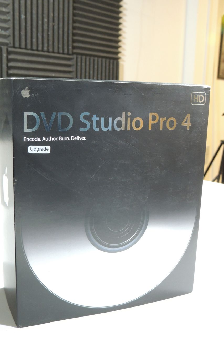 Apple Final Cut Pro 5 and DVD Studio Pro 4 for sale at Plasma Music