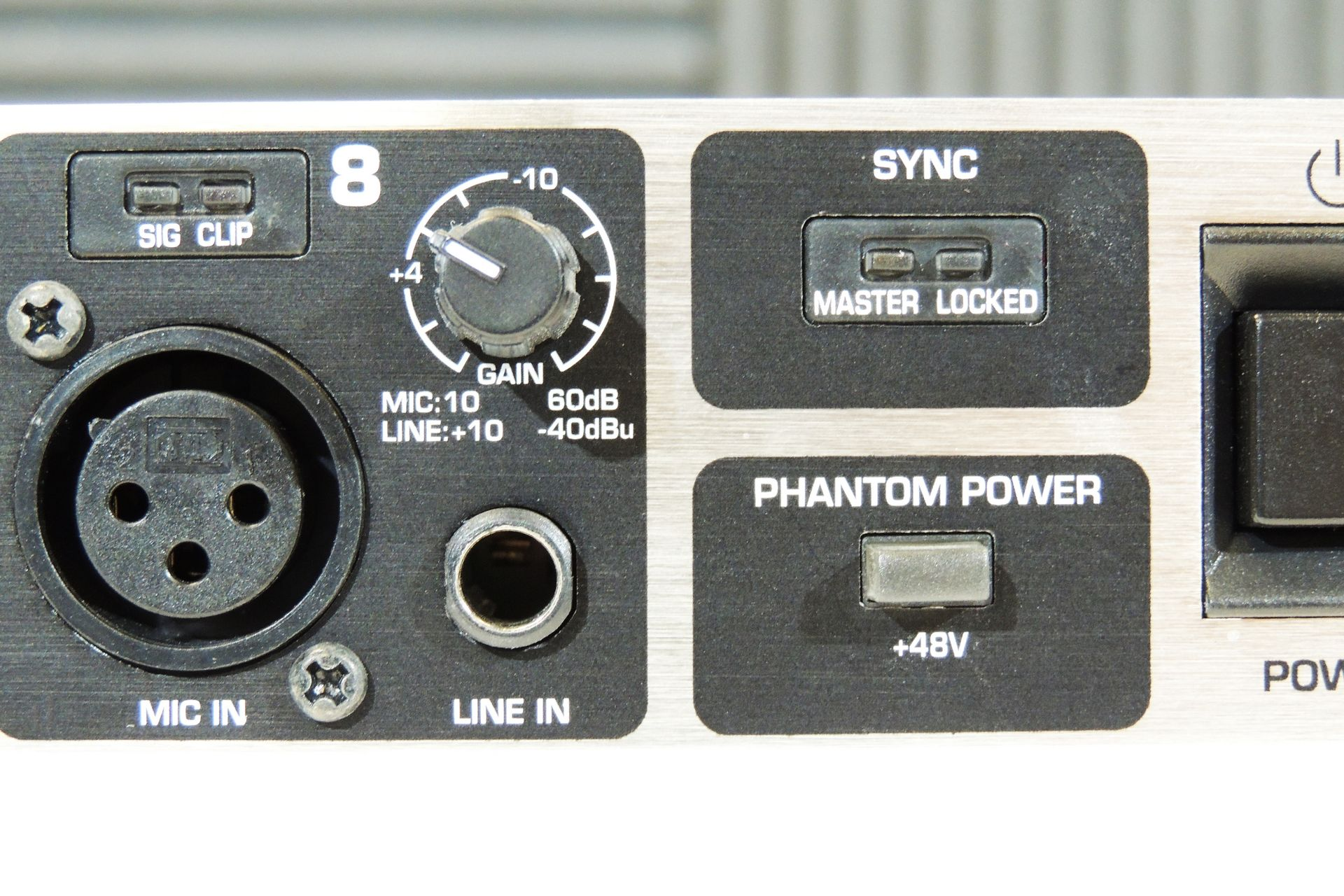 Behringer ADA8000 microphone pre-amp and A/D D/A converter for sale at Plasma Music