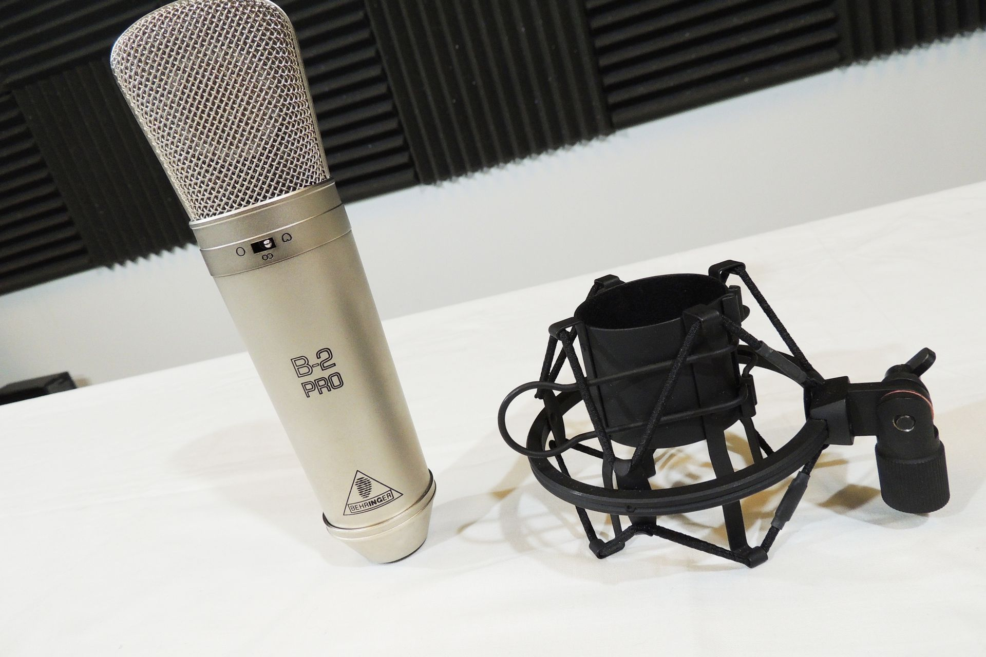 Behringer B-2 large diaphragm microphone for sale at Plasma Music