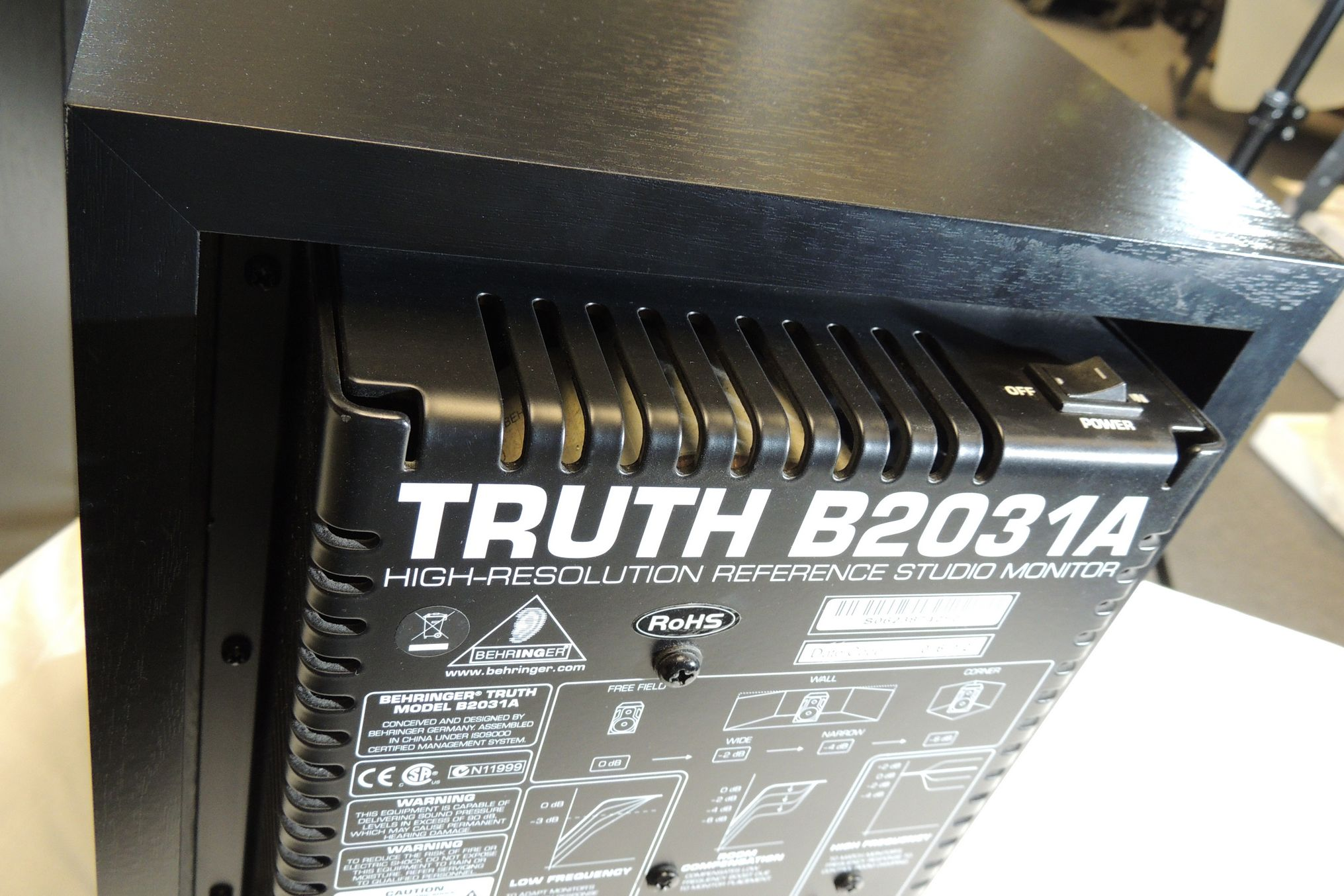 Pair of Behringer Truth B2031A for sale at Plasma Music
