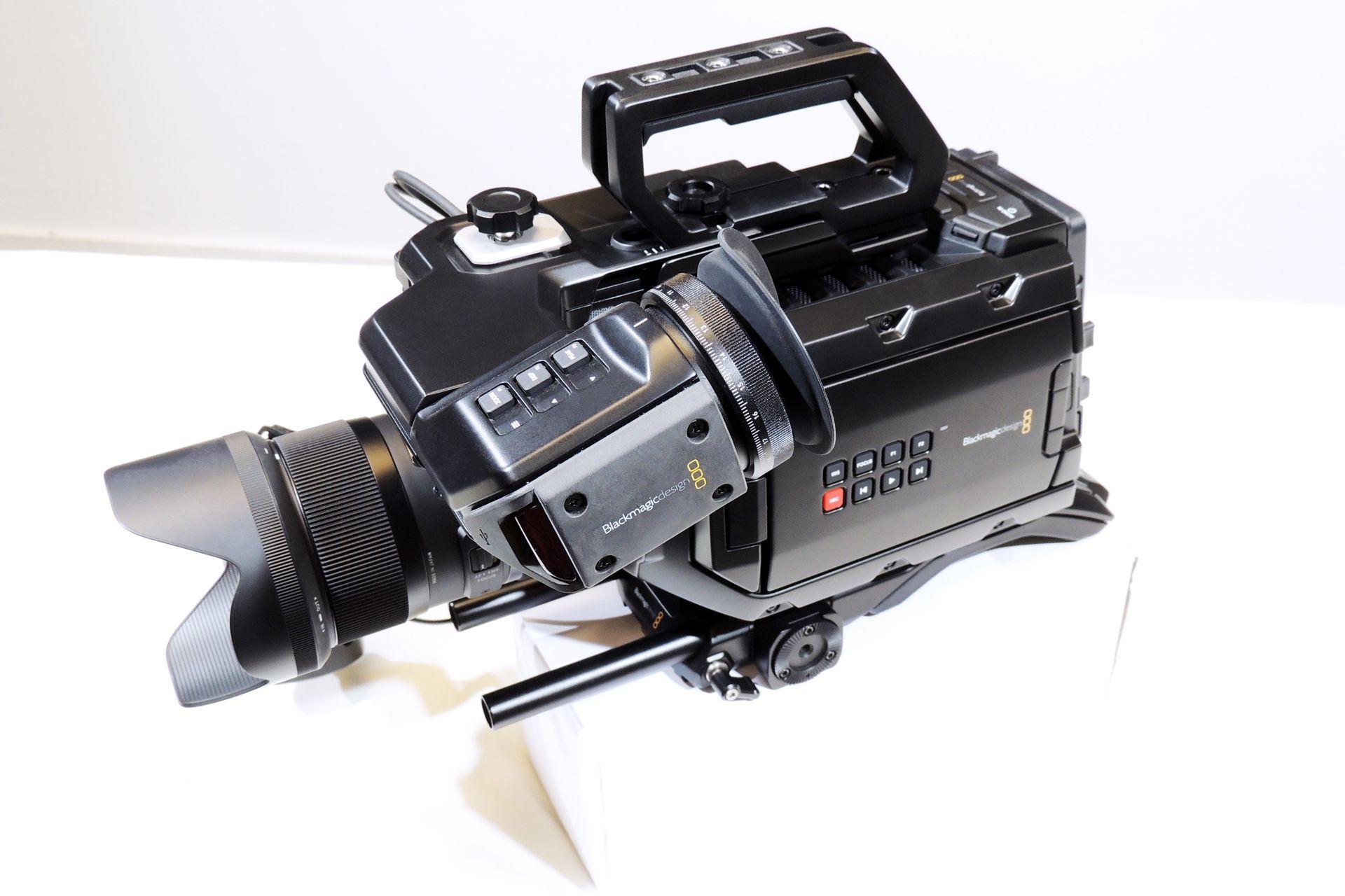Black Magic Design Ursa Mini 4k Canon fit for sale at Plasma Music
