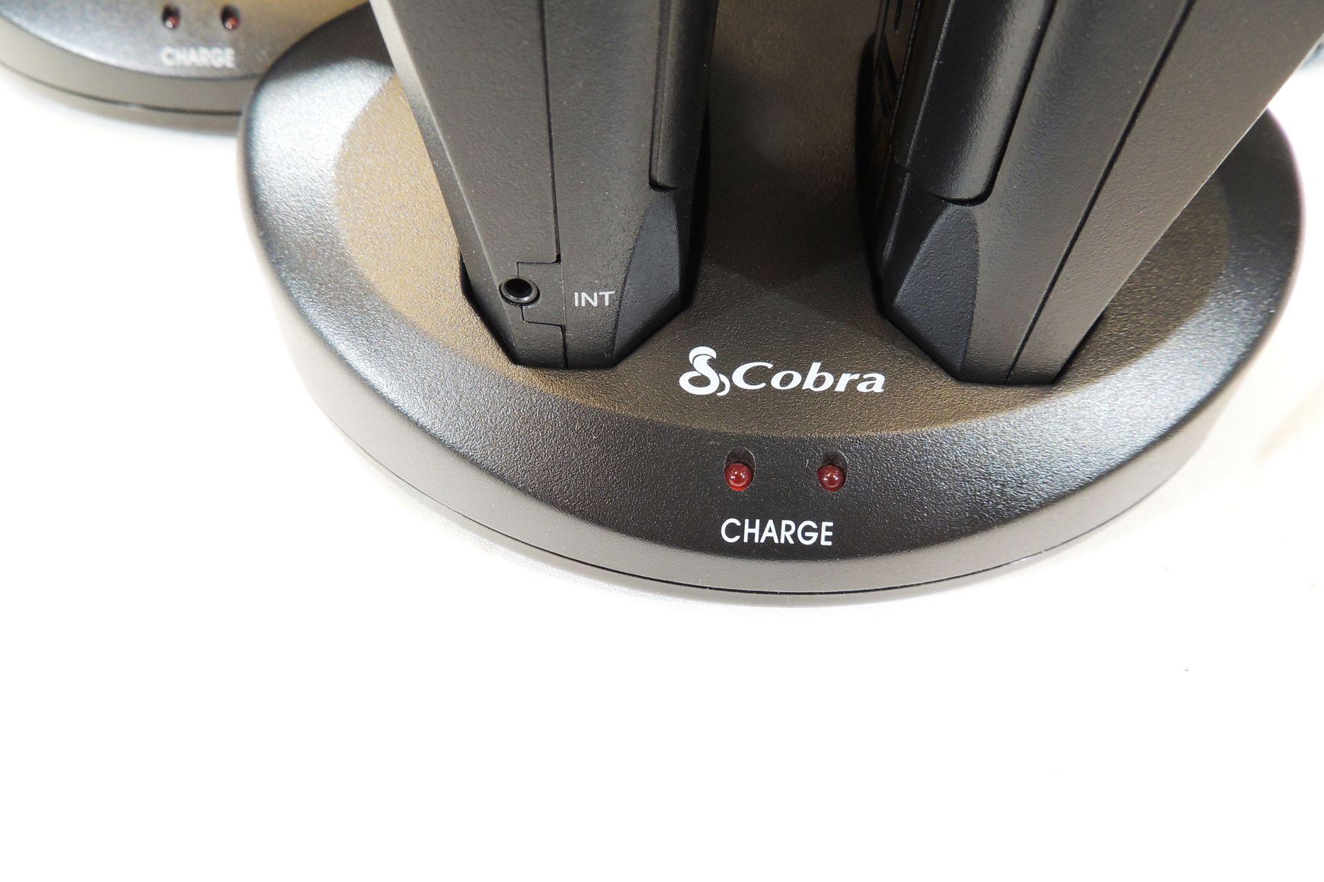 Set of four Cobra walkie talkies for sale at Plasma Music