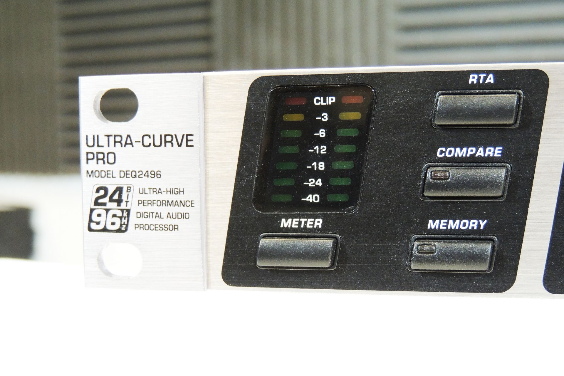 Behringer DEQ2496 UltraCurve for sale at Plasma Music