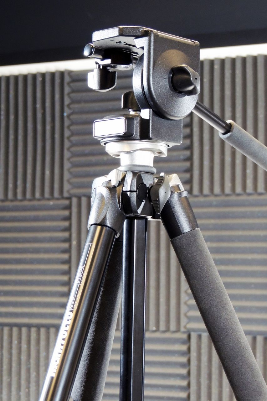 Manfrotto 290 tripod and LP128 head for sale at Plasma Music