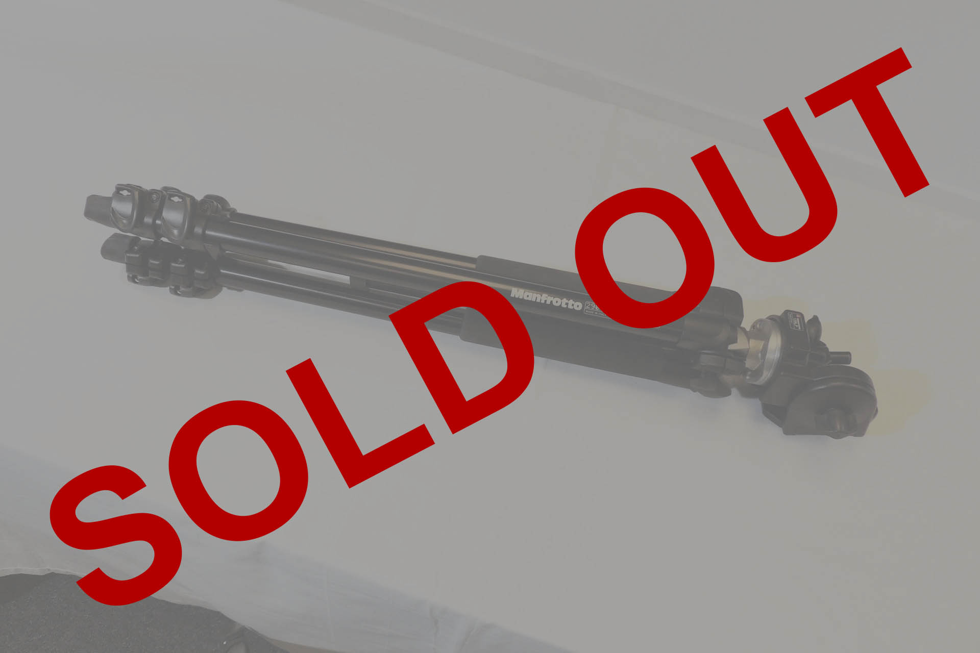 Manfrotto 290 all sold at Plasma Music
