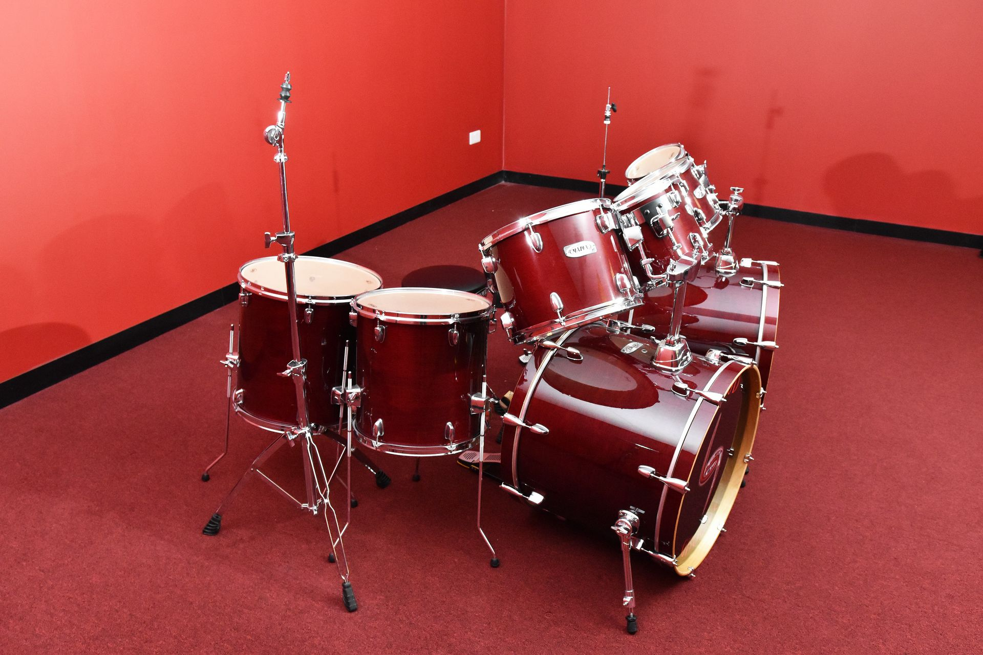MAPEX 9-PIECE MEGA DRUM KIT