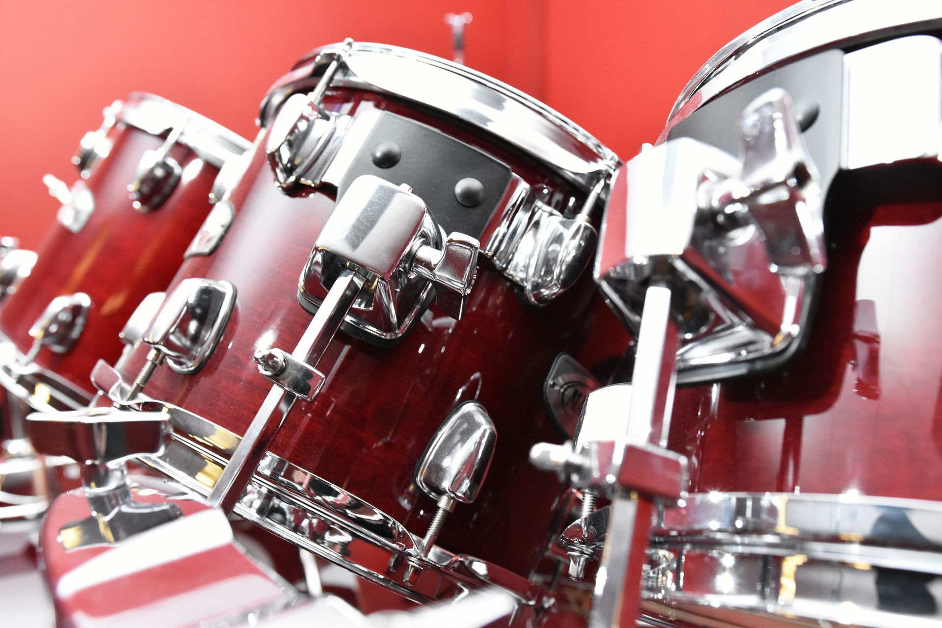 Mapex 9-piece drum kit for sale at Plasma Music