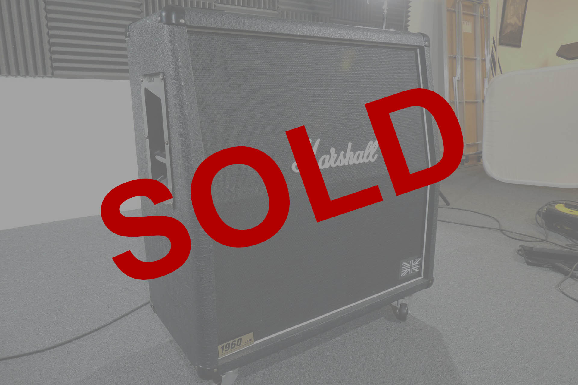 Marshall 1960A 4 x 12 sold at Plasma Music