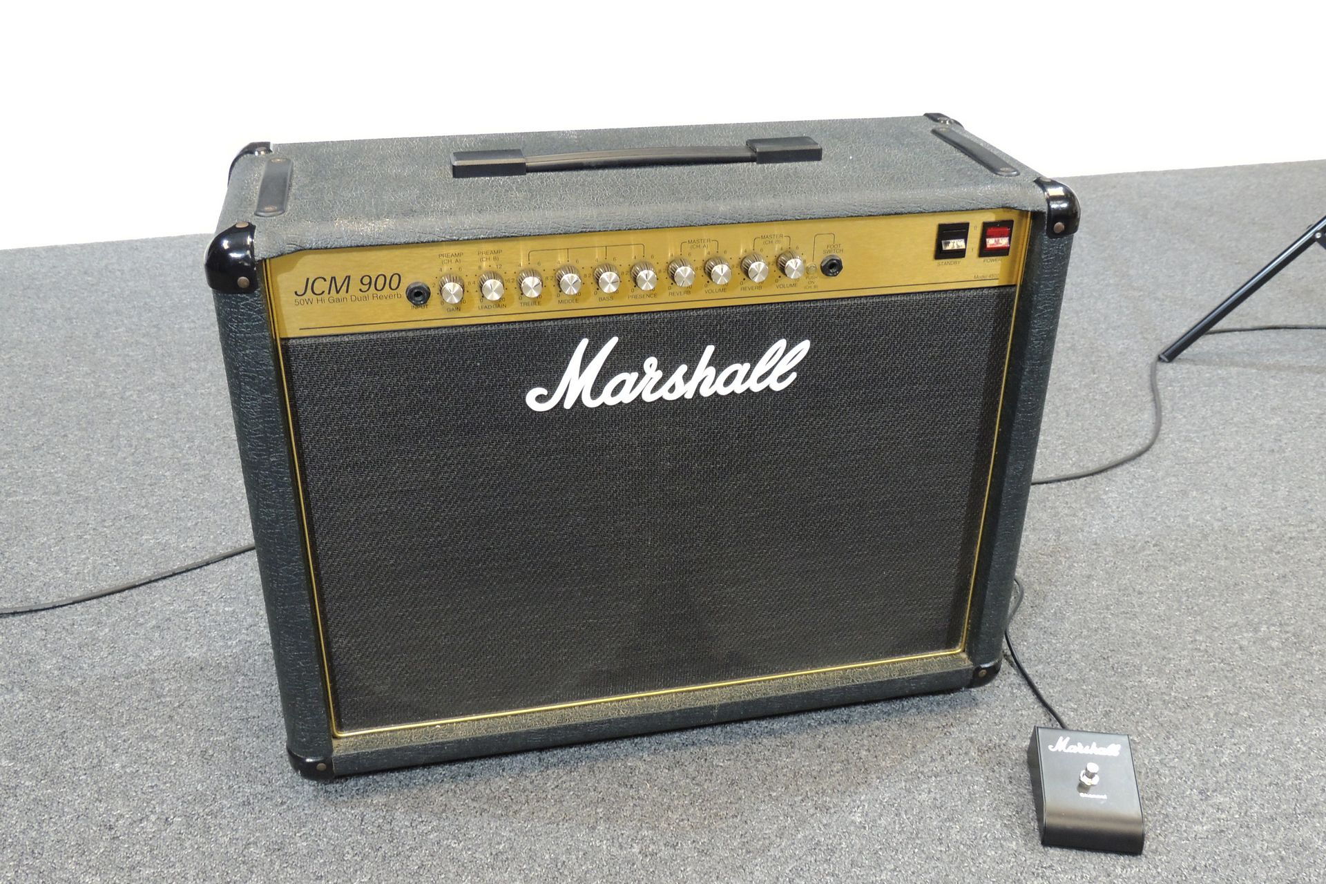 Marshall JCM900 Dual Reverb 4502 2 x 12 combo for sale at Plasma Music
