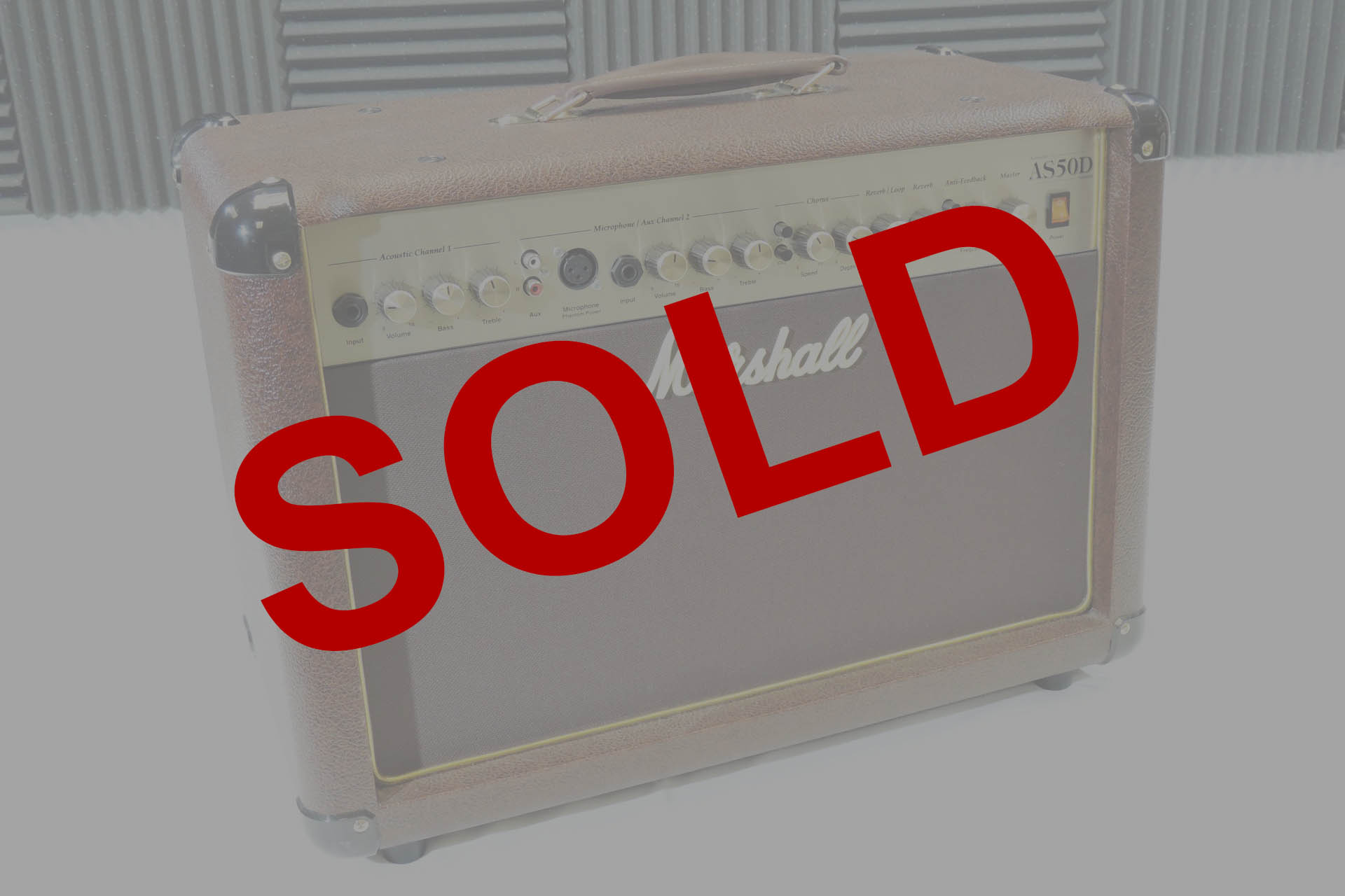 MARSHALL AS-50D ACOUSTIC AMP – SOLD