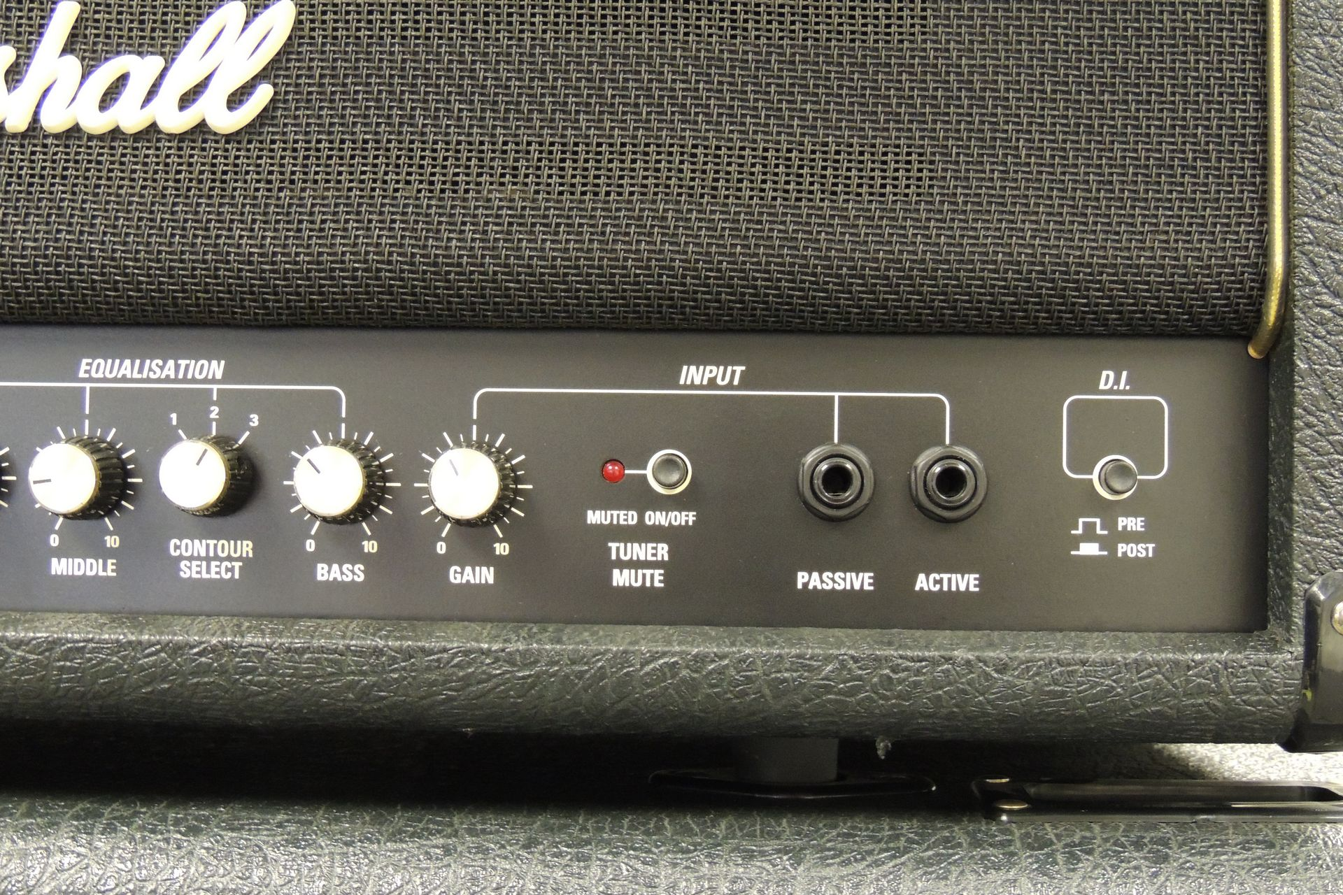 Marshall VB400 full bass stack (ex-Saxson) for sale at Plasma Music