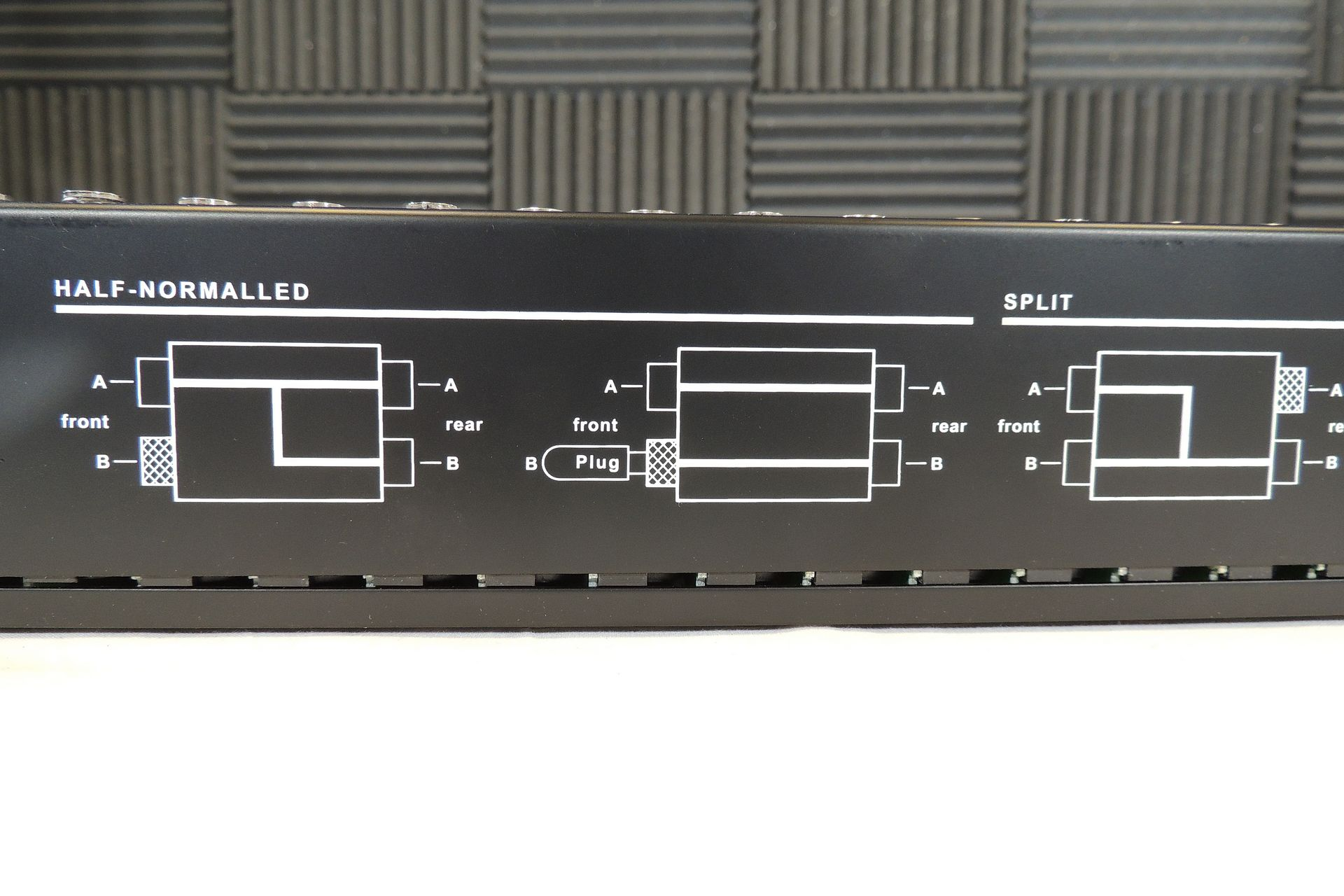 Neutrik NYS SPP L1 48-way patchbay for sale at Plasma Music
