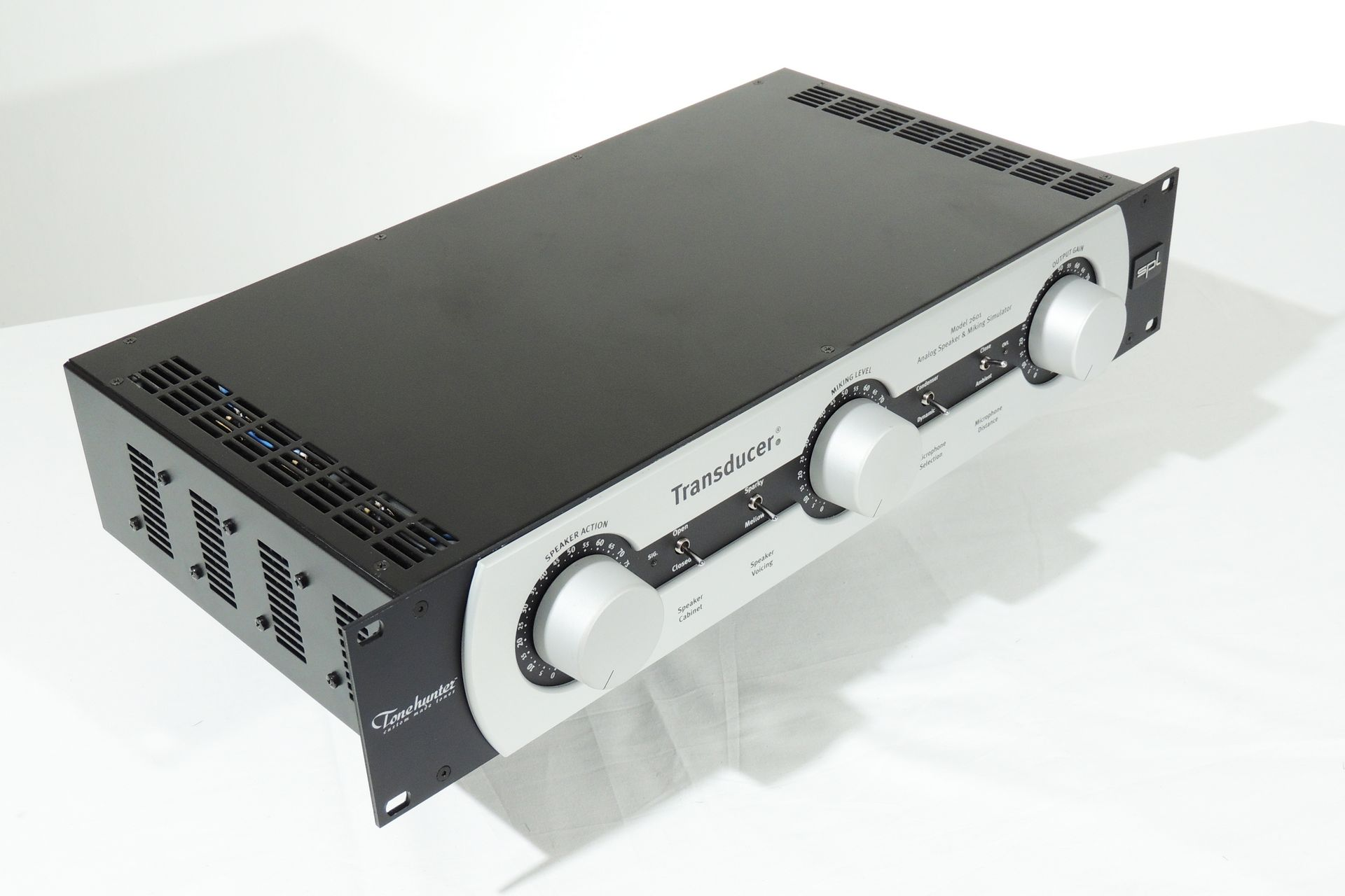 SPL 2601 TRANSDUCER SPEAKER SIMULATOR AND LOAD BOX