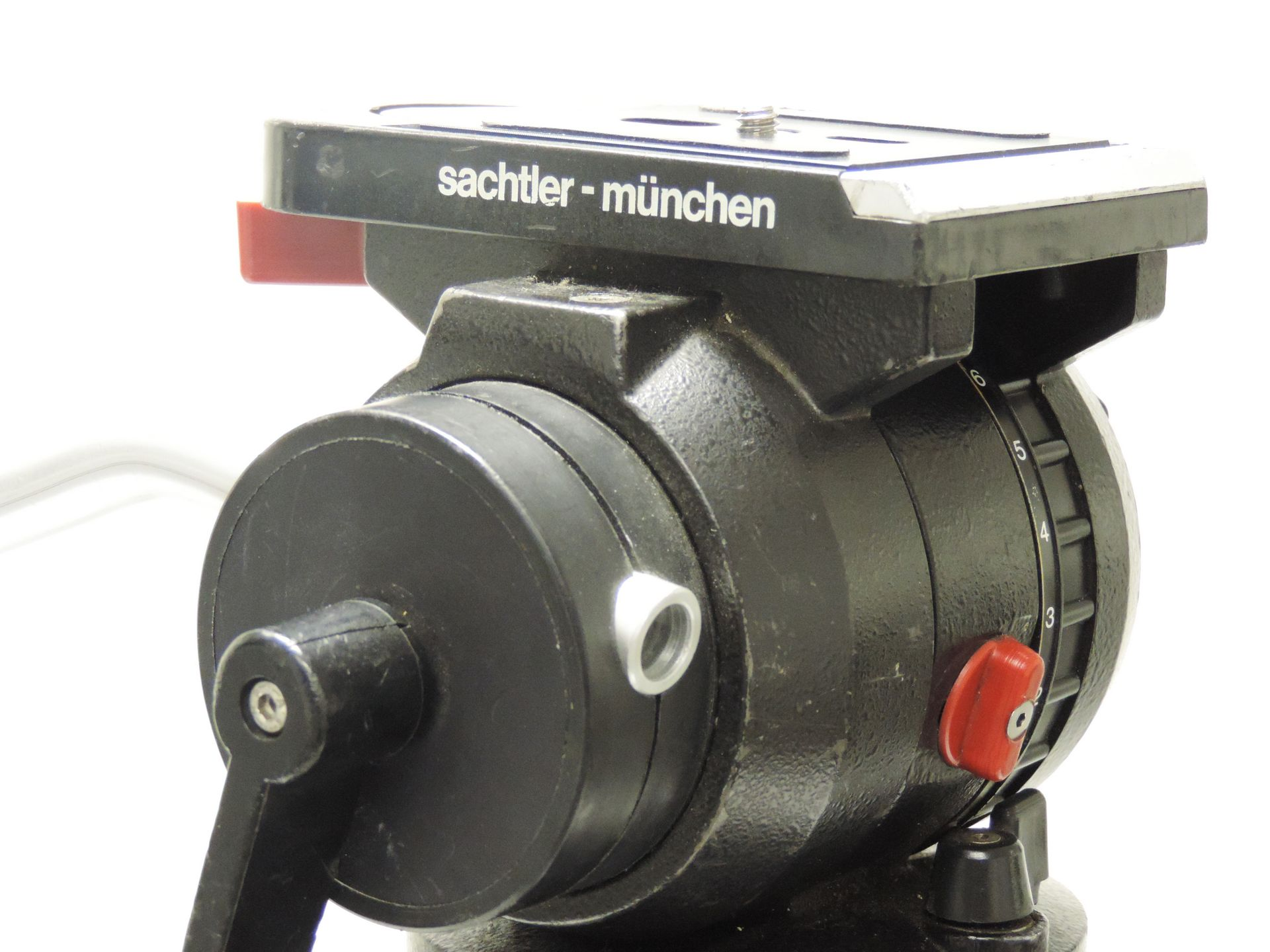 SACHTLER-MÜNCHEN TRIPOD  WITH FLUID HEAD AND E-MAGE EI-7003 DOLLY for sale at Plasma Music