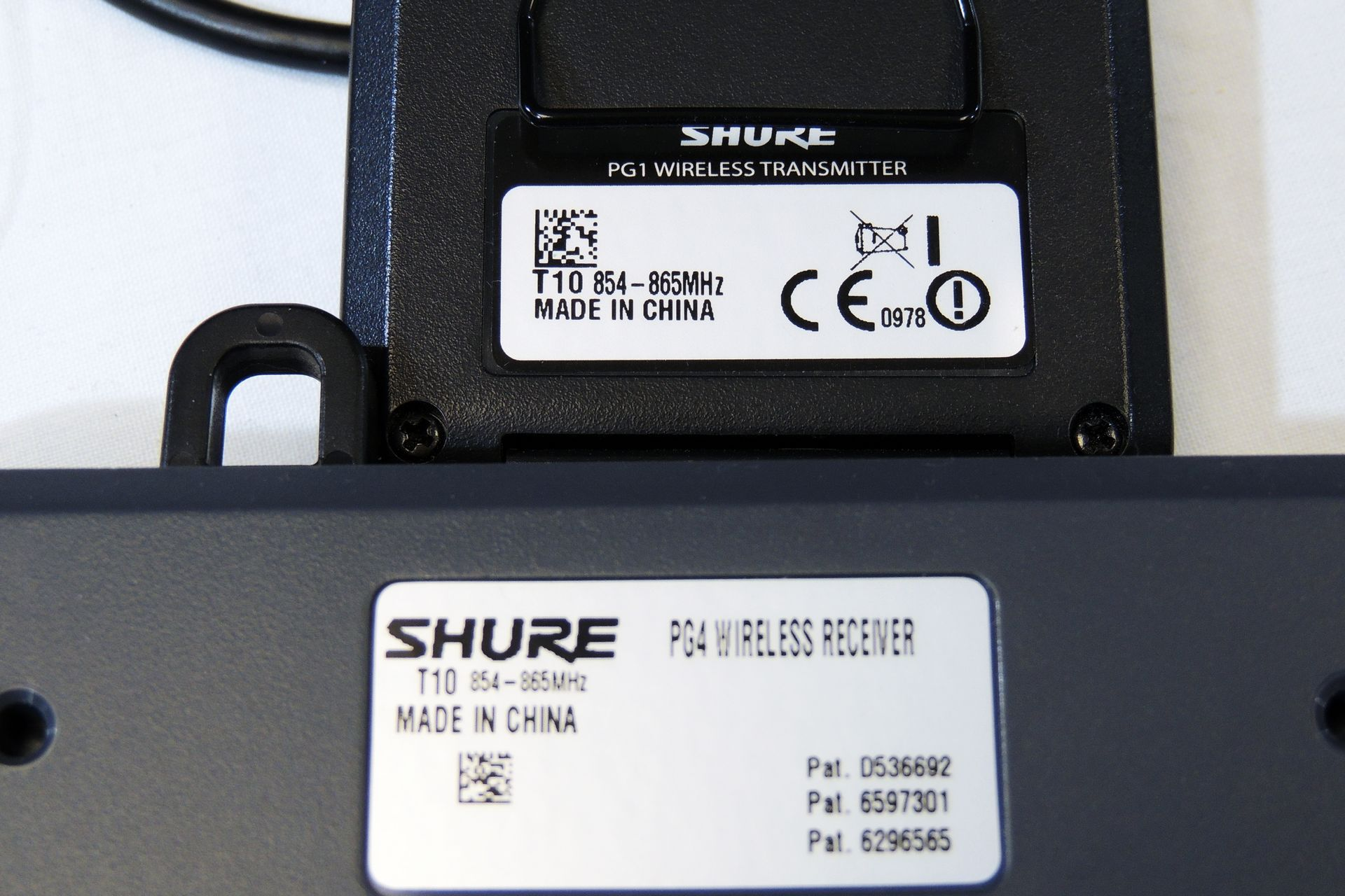 Shure PG4 pack of three with custom power supply for sale at Plasma Music