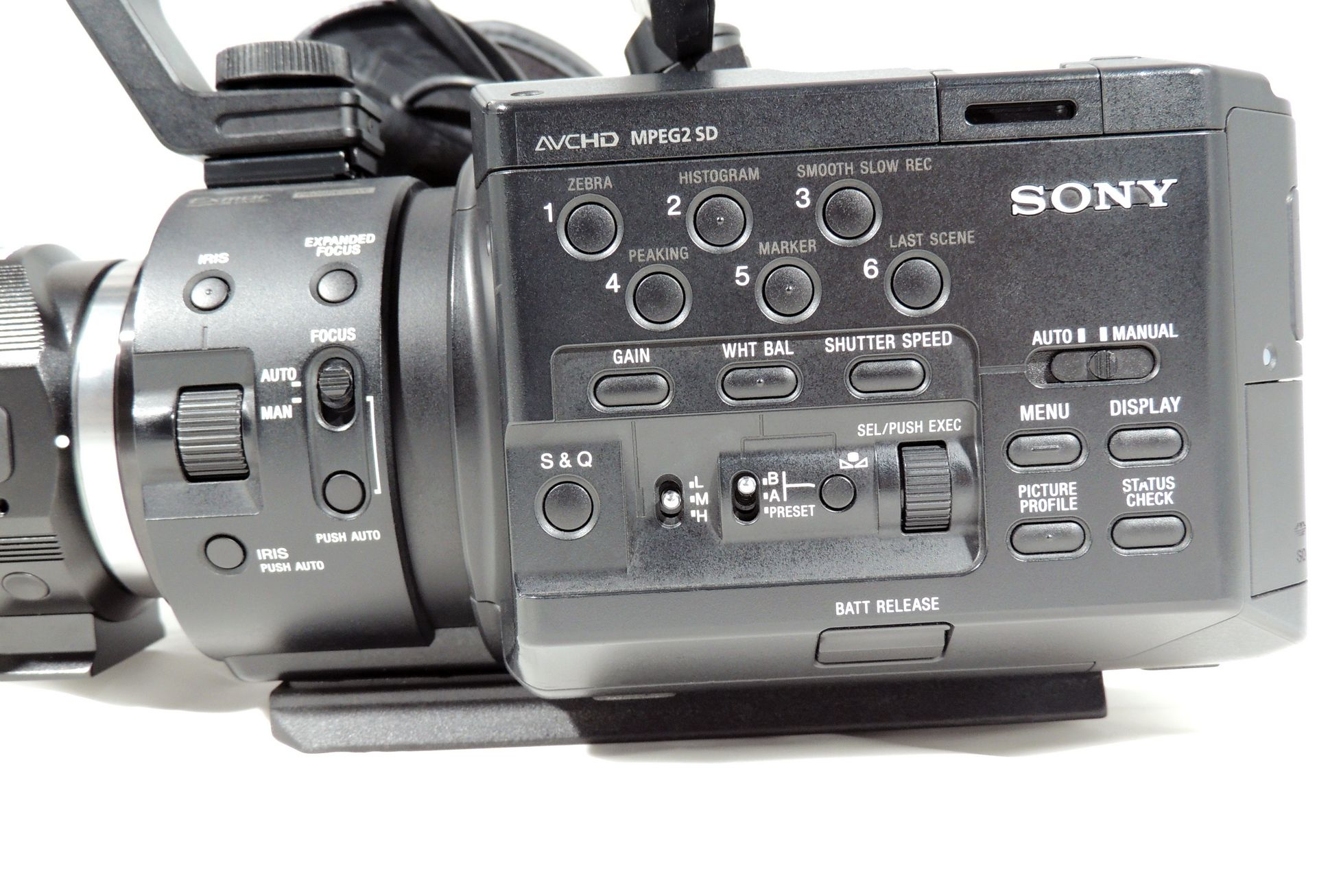 Sony FS-100 bundle for sale at Plasma Music
