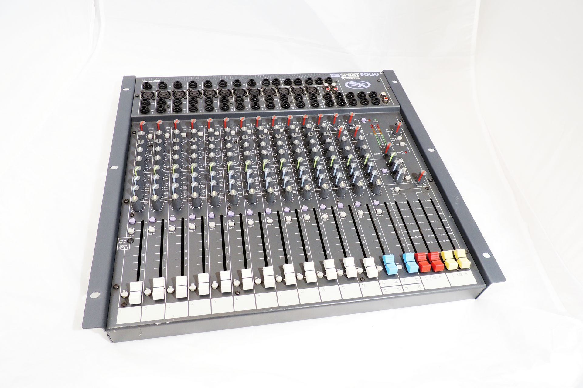 SPIRIT FOLIO SX 16:2 MIXING DESK