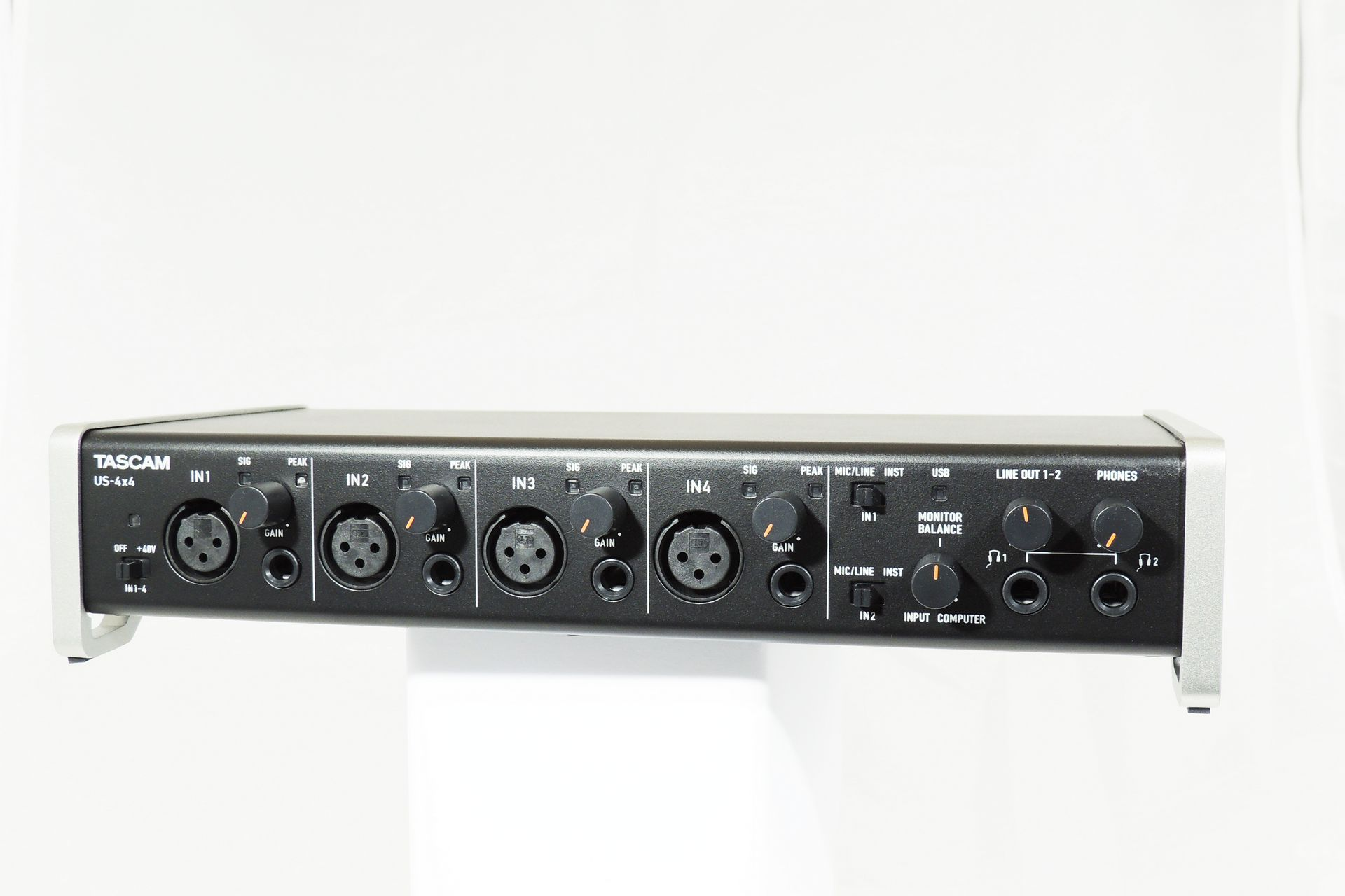 TascamUS-4x4 audio MIDI interface for sale at Plasma Music