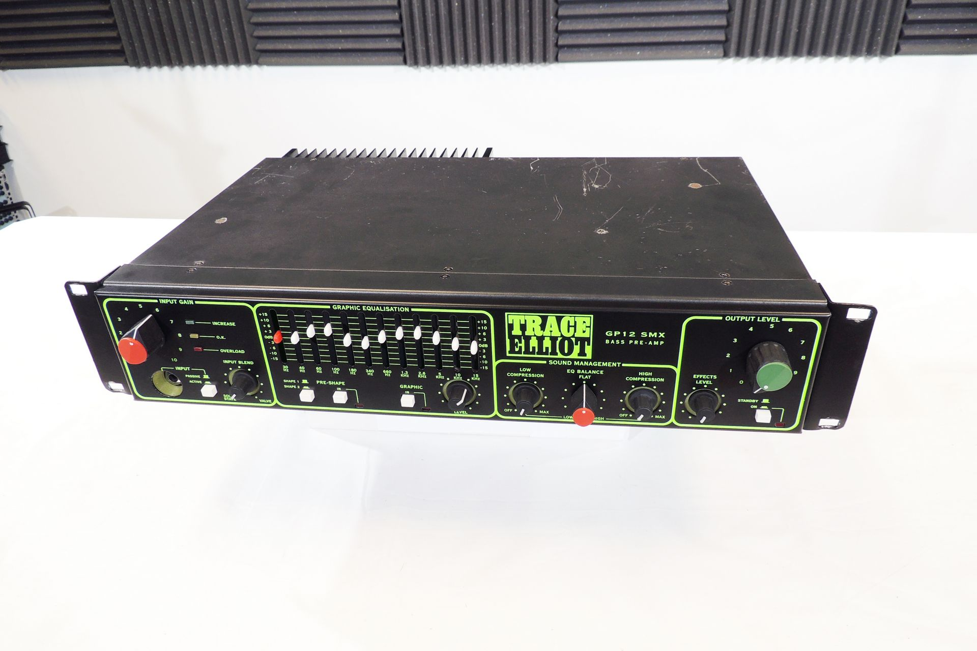 TRACE ELLIOT GP12 SMX CLASSIC EIGHTIES BASS AMP