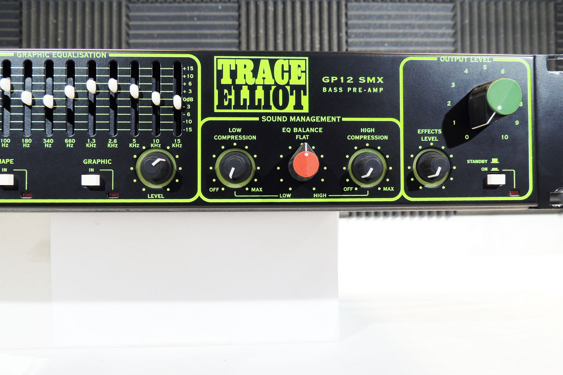 Trace Elliot GP12 SMX eighties bass amp for sale at Plasma Music