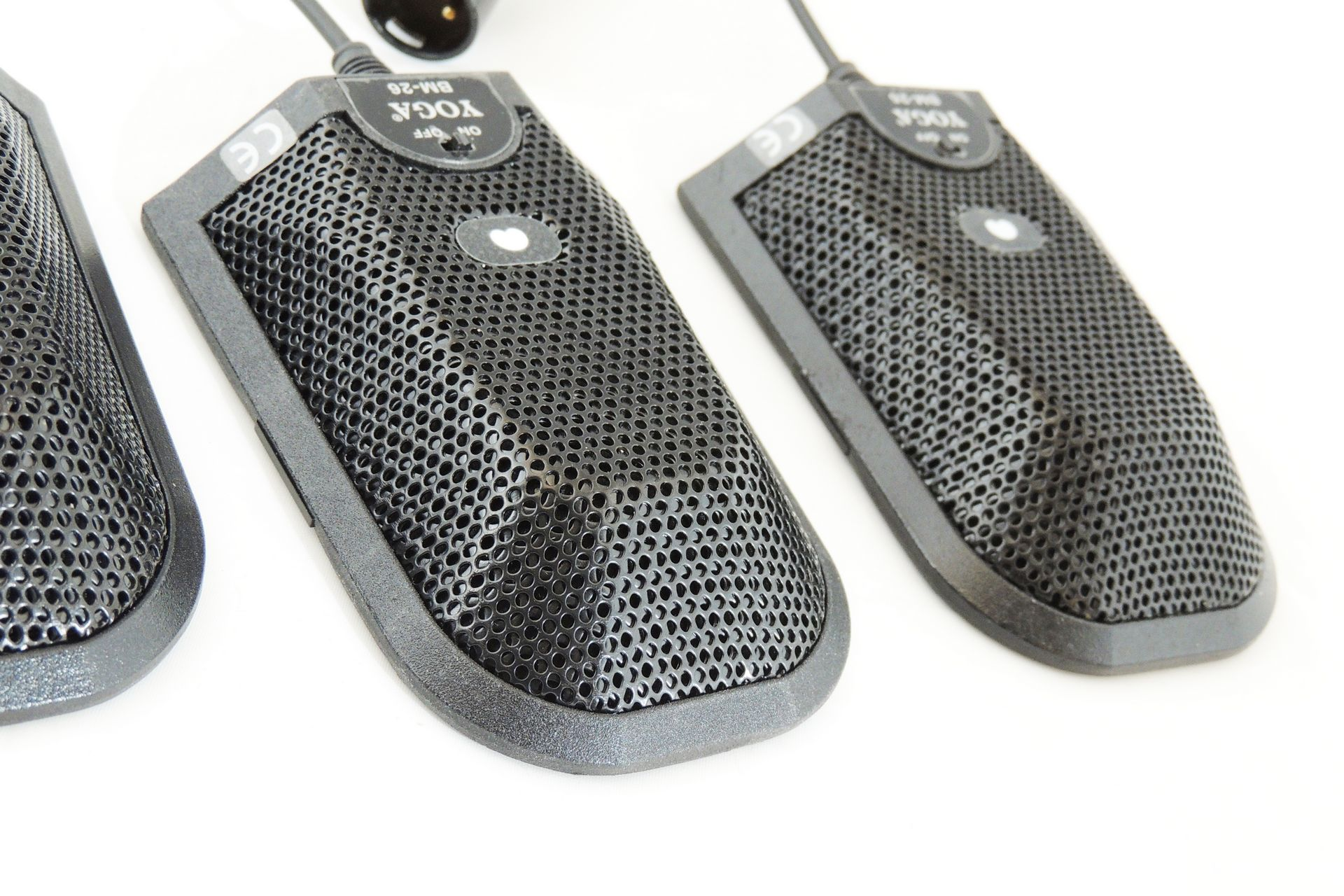 YOGA BM-26 BOUNDARY 3 x LAYER MICROPHONES for sale at Plasma Music