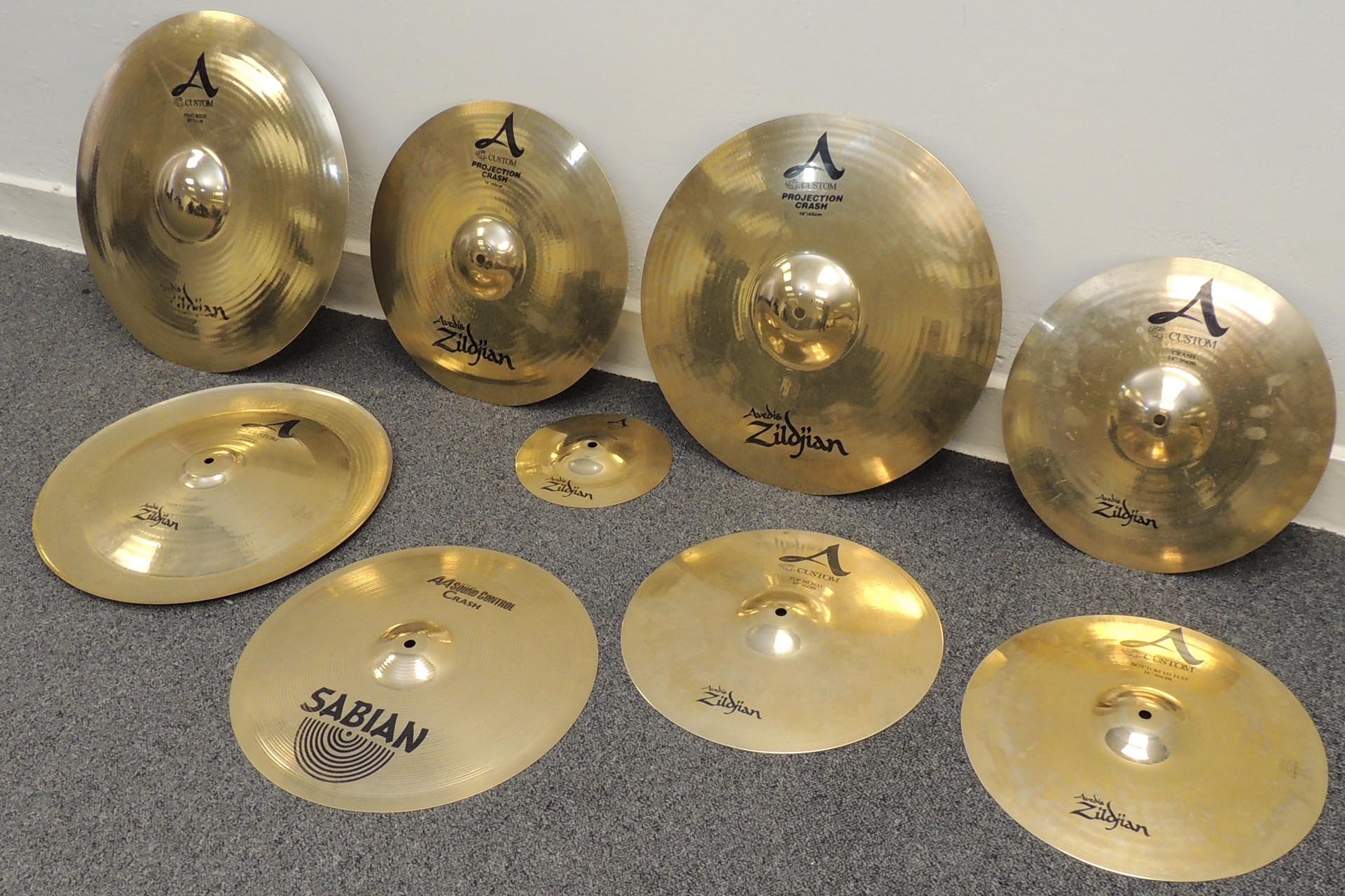 Zildjian cymbals for sale at Plasma Music