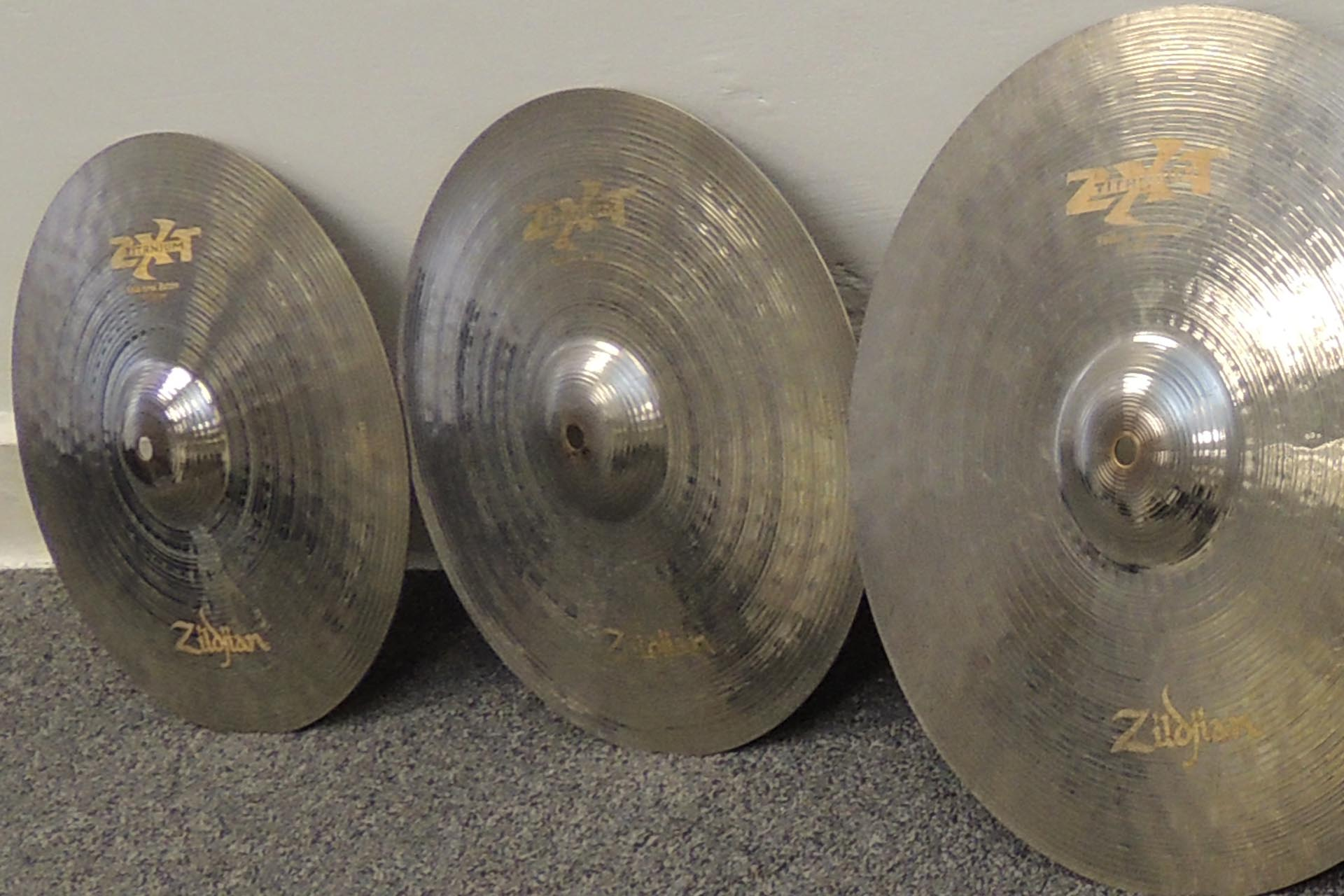 Zildjian ZXT Titanium cymbals for sale at Plasma Music