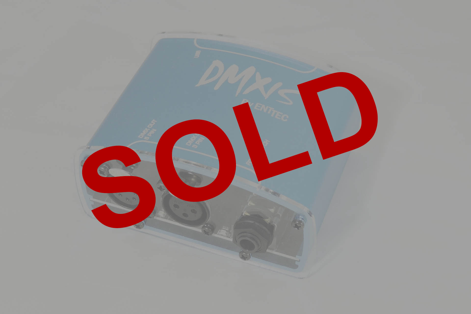 Entted DMXIS sold at Plasma Music