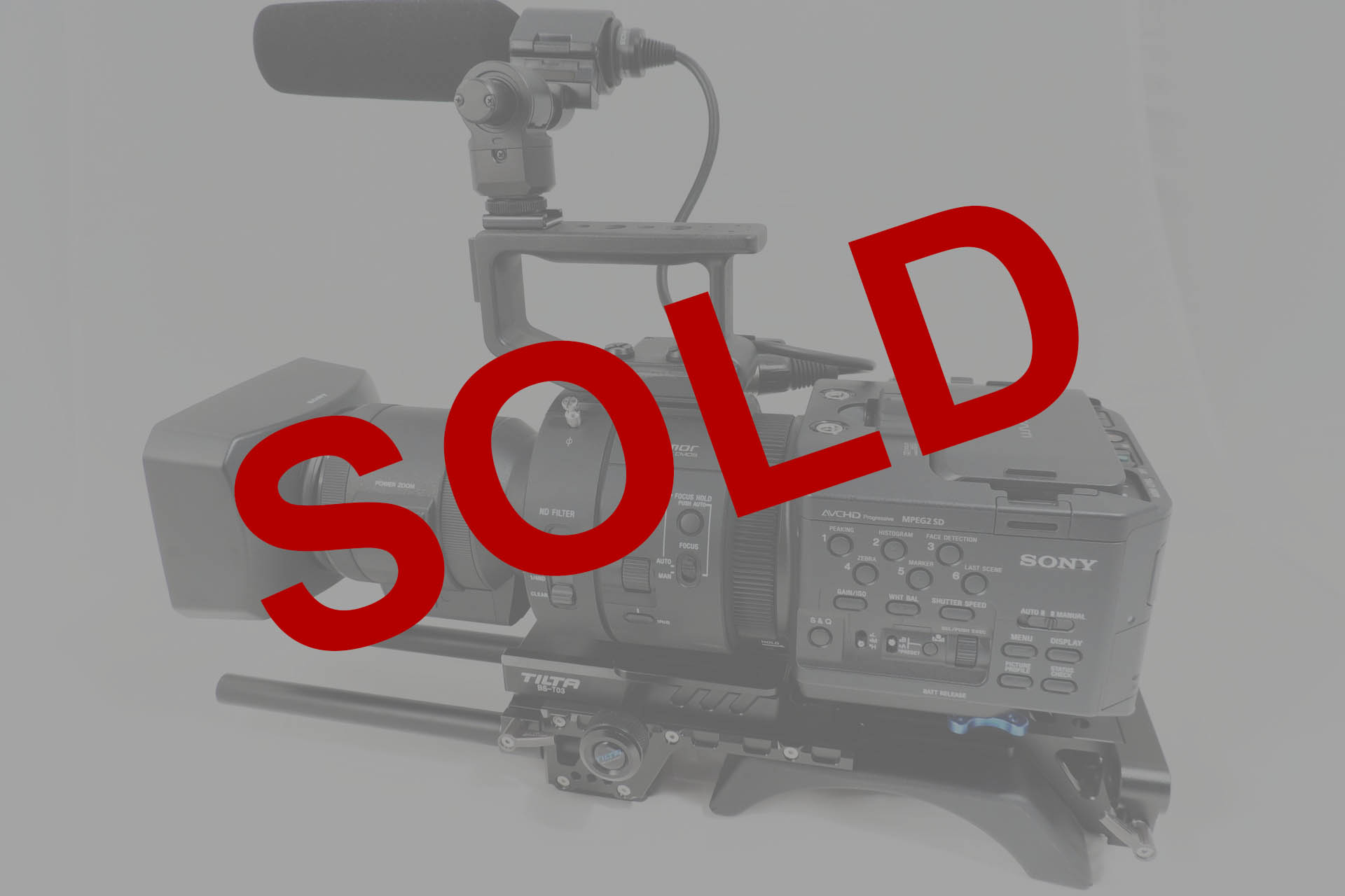 SONY NEX-FS700 MASSIVE BUNDLE WITH LOTS OF ACCESSORIES