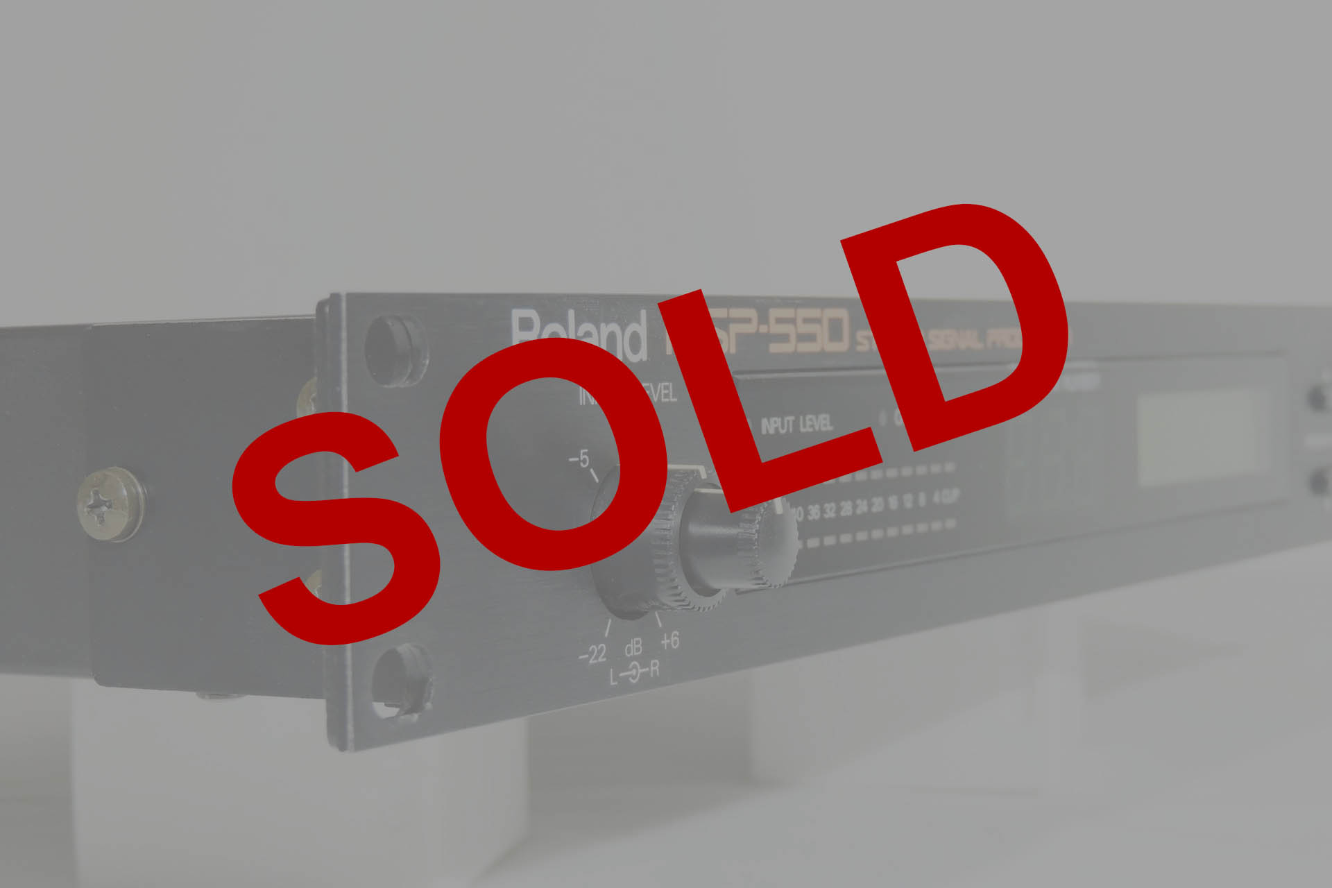 Roland RSP-550 sold at Plasma Music