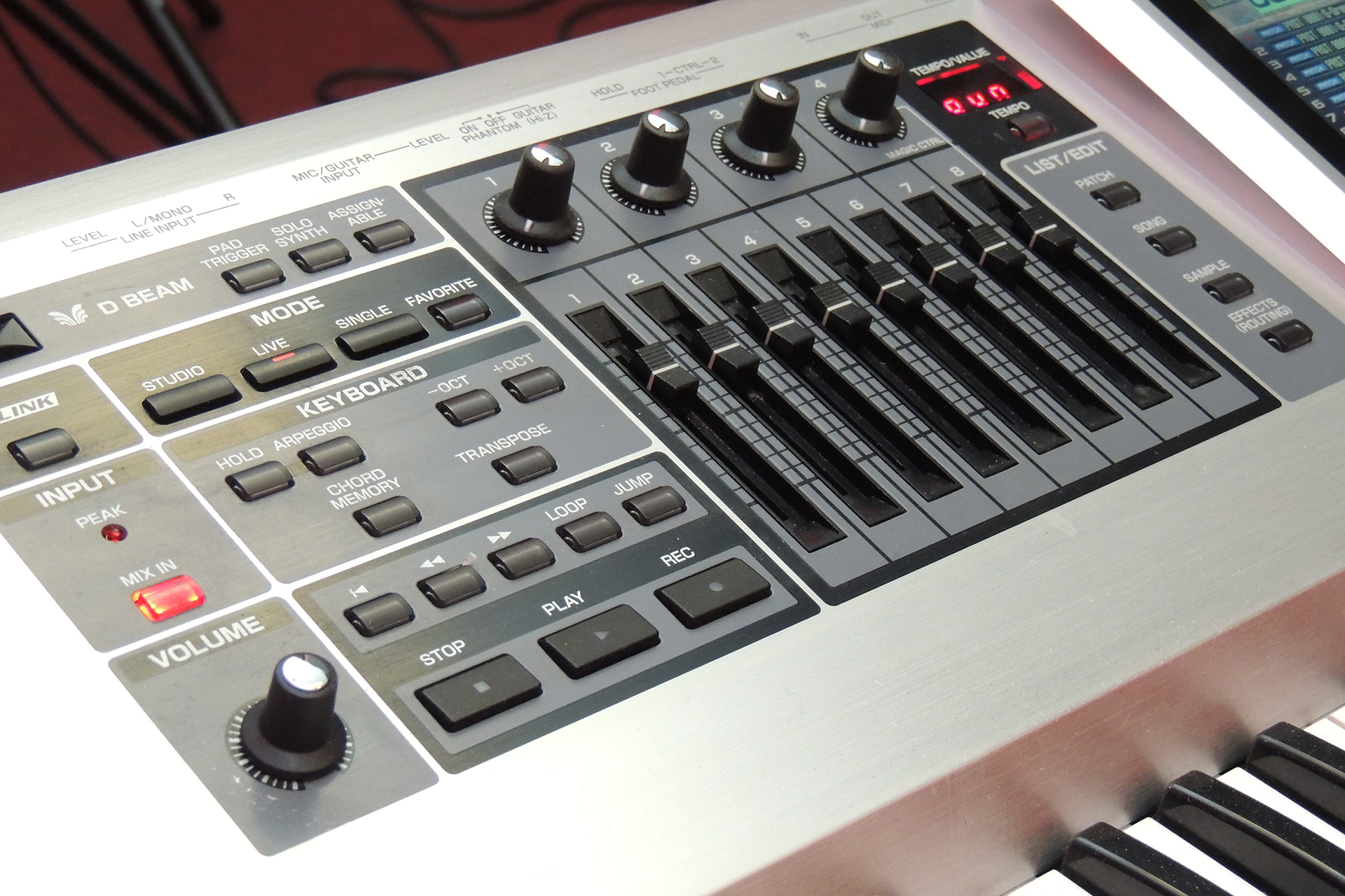 Roland Fantom G7 for sale at Plasma Music