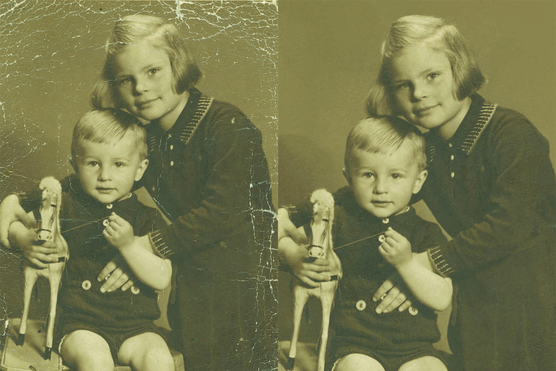 Photo restoration at Plasma Music